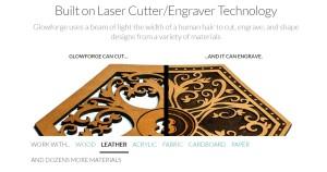 glowforge 3d lazer yazıcı kesim makinesi